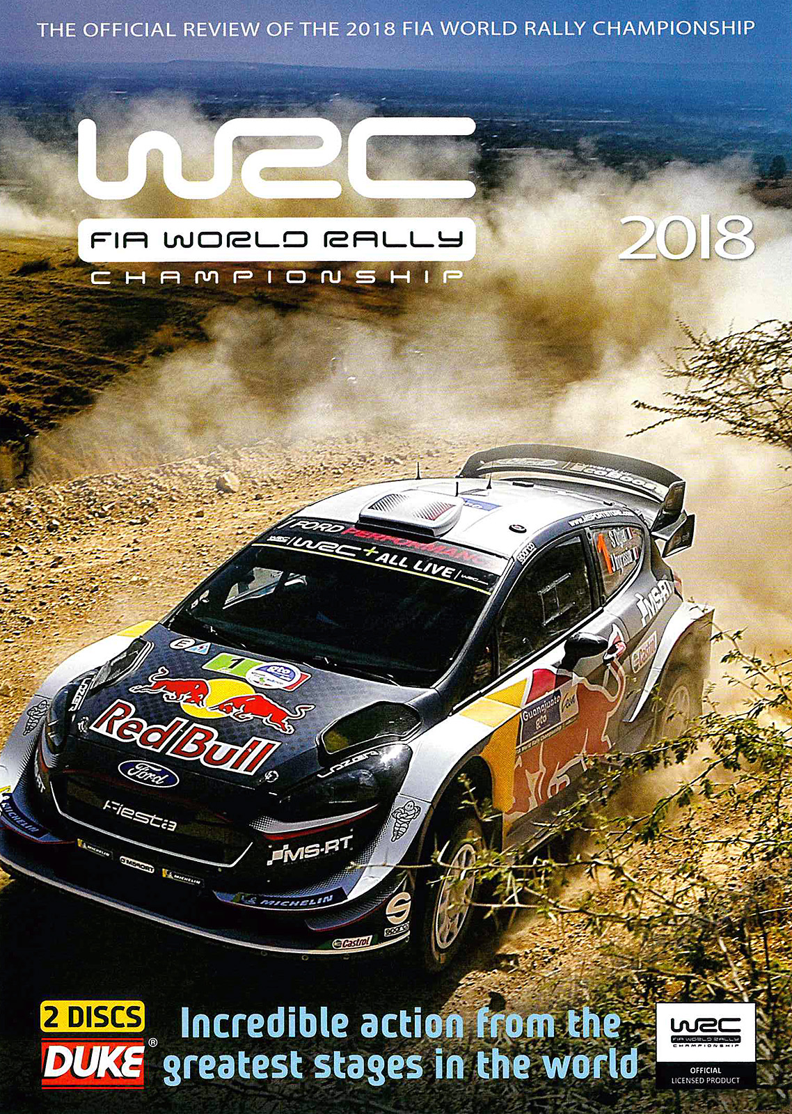 wrc fia world rally championship review 2018 dvd blu rays dvds rallywebshop. Black Bedroom Furniture Sets. Home Design Ideas