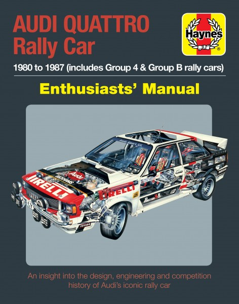AUDI-QUATTRO-RALLY-CAR-MANUAL-HAYNES